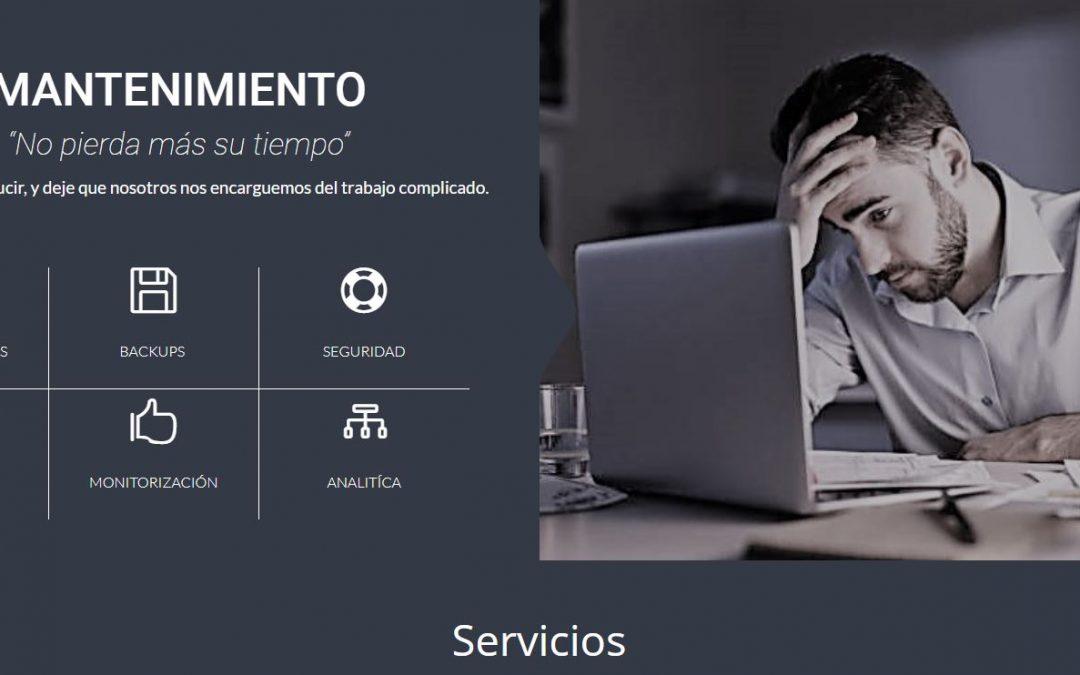 Mantenimiento web